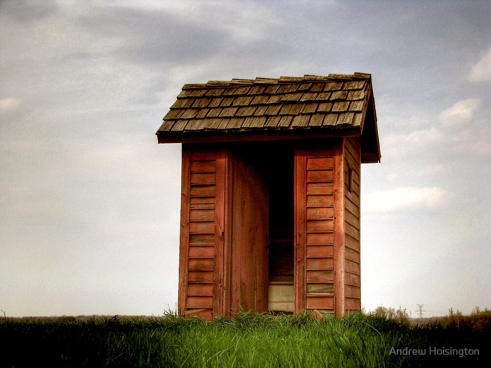 the shed by Andrew Hoisington