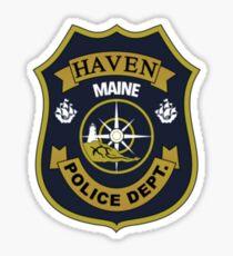 Haven Police Department Sticker