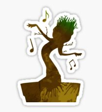Tree Inspired Silhouette Sticker