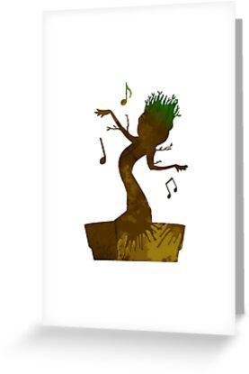 Baum inspirierte Silhouette von InspiredShadows