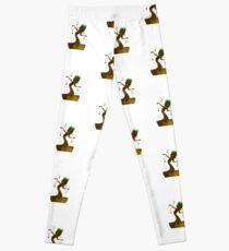 Legging Árbol inspirado silueta
