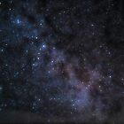 Milkyway and Andromeda by azbulutlu