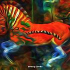 Childhood Memories III:  Ride the Escaping Quagga (3989 views as of 071517) by Bunny Clarke