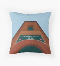 Salford Lads Club Throw Pillow