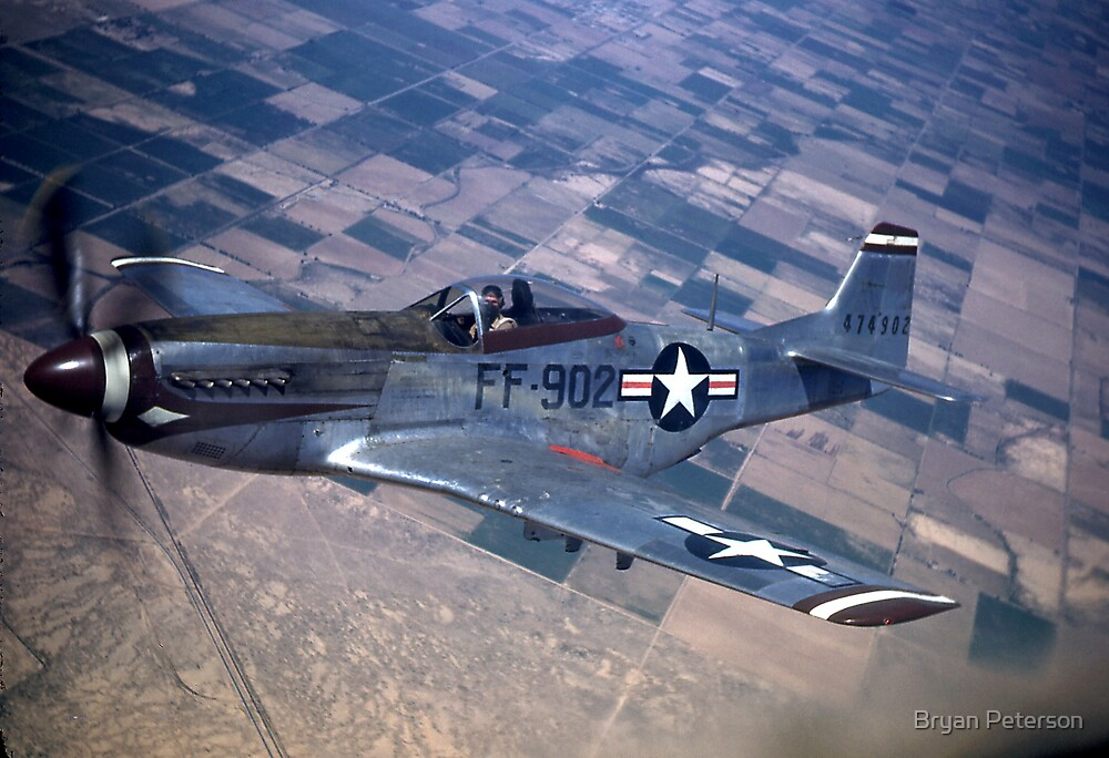 P 51 Mustang by Bryan Peterson