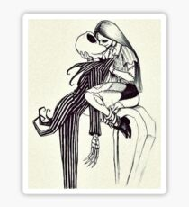 WE CAN LIVE LIKE JACK AND SALLY IF YOU WANT Sticker
