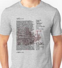 Chicago Series: Saul Bellow Humboldt's Gift Unisex T-Shirt