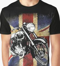 Classic BSA Motorcycle by Patjila Graphic T-Shirt