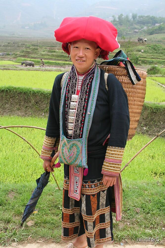 Sapa village lady by JenniferC