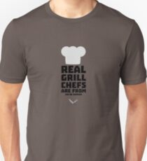Real Grill Chefs are from Rio de Janeiro R3fai Unisex T-Shirt