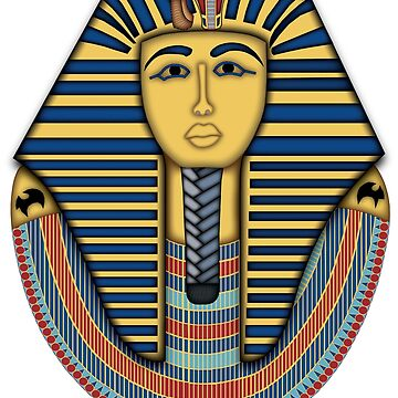 Tutankhamuns Death Mask by mindsgallery