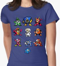 Mega Man 2 Women's Fitted T-Shirt