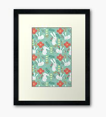 Rabbit Season Framed Print