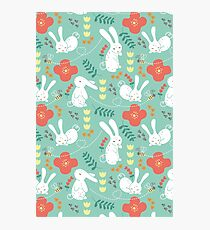 Rabbit Season Photographic Print