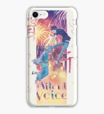 A Silent Voice - Koe no Katachi poster iPhone Case/Skin