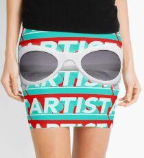 Artist Kurt Cobain Glasses Mini Skirt