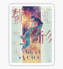 A Silent Voice - Koe no Katachi poster Sticker
