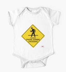 Phone Zombie Crosswalk Sign Kids Clothes