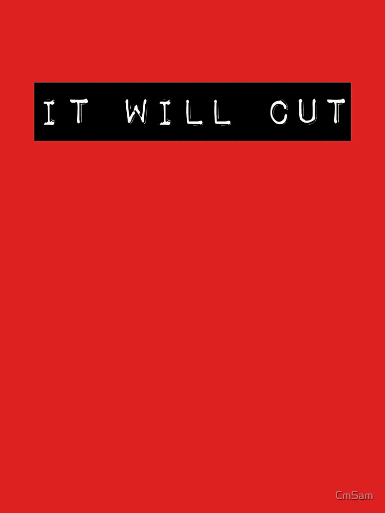 It will cut by CmSam