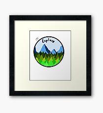 Explore!  Framed Print