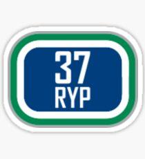 Canucks 37 RYP Sticker