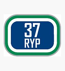 Canucks 37 RYP Photographic Print