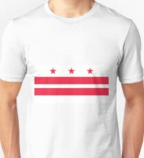Flag of Washington, D.C. T-Shirt