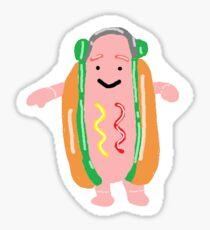 Off Brand Hot Dog Sticker