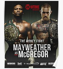 MCGREGOR VS MAYWEATHER Poster