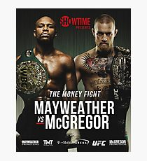 MCGREGOR VS MAYWEATHER Photographic Print
