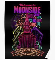 Welcome to Moonside Poster