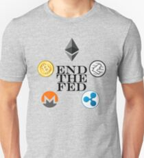 Cryptos Will End The Fed T-Shirt