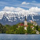 Bled Landscape by Dominika Aniola