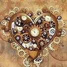 Heart Steampunk Love Machine by BluedarkArt
