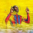 Classic Benteke by Mark White