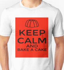 Keep Calm and Bake a Cake Unisex T-Shirt