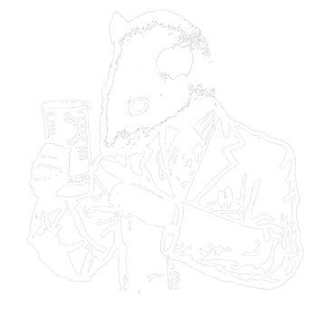Lab Rats Monochrome by Vonrocket