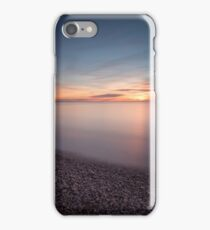 Sunset at Etretat France iPhone Case/Skin