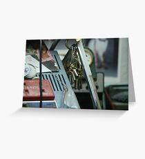 Keys please Greeting Card