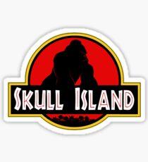 Schädel Insel Sticker