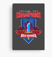 Crystal Cup Champions Canvas Print