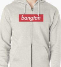 Sudadera con capucha y cremallera Bangtan- BTS