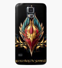 Blood elf emblem  Case/Skin for Samsung Galaxy