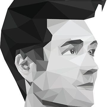 Geometric Dan Smith by abflab
