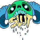 Skull + Slut Variant1 by Zachatino