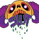 Skull + Slut variant2 by Zachatino