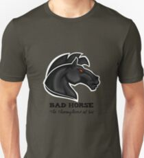 Bad Horse, Thoroughbred of Sin, Evil League of Evil T-Shirt