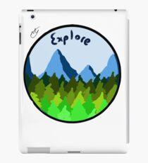 Explore!  iPad Case/Skin