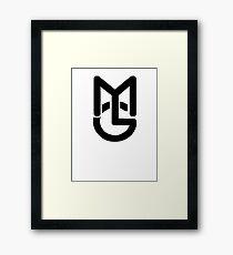 Macky Gee MG Framed Print