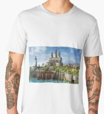 Medieval Castle Men's Premium T-Shirt